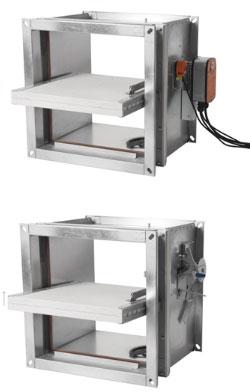 g p airsystems eckige brandschutzklappen bsk e ei90 g. Black Bedroom Furniture Sets. Home Design Ideas